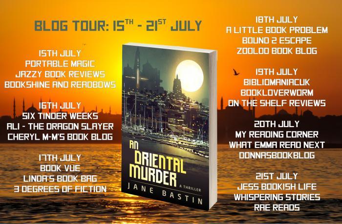 An Oriental Murder Full Tour Banner